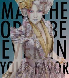 Still haven't seen number 2... still channeling my inner Katness!! Effie Trinket