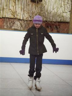 'Ice' Skating at South Lakes Wild Animal Park