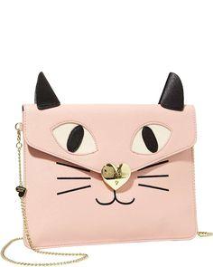 Betsey Johnson Kitchi Cat Clutch
