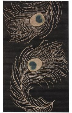 nuLOOM Charcoal Feather   Contemporary Rugs