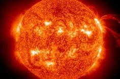 "The sun's core rotates nearly four times faster than the sun's surface, according to new findings by an international team of astronomers. Scientists had assumed the core was rotating like a merry-go-round at about the same speed as the surface. ""The most likely explanation is that this core..."