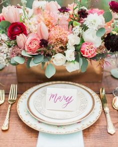 """As something that we'd nickname """"Sweet #Summer to #Autumn transition"""" this #wedding tablescape captures the beauty of a blooming garden with a chic style in shades of #blush #gold and #burgundy.      @kateanfinson #weddinginspiration #california #norcal #northerncalifornia #destinationwedding #travel #greenery #bride #weddings #glam #style #styleinspiration #thatsdarling  #weddingday #inspiration #stylediaries #weddingphotography #artofvisuals #weddingphotographer #burlapandsilk  Explore our…"""