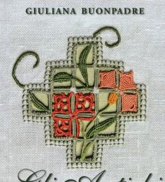 Italian Needlework: Different Styles of Reticello - Part On Hardanger Embroidery, Paper Embroidery, Embroidery Transfers, Vintage Embroidery, Types Of Embroidery, Embroidery Designs, Crochet Doily Patterns, Doilies Crochet, Drawn Thread