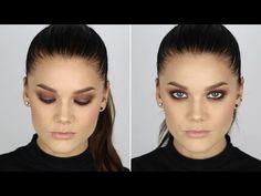 Grunge look tutorial (with subs) - Linda Hallberg Makeup Tutorials - YouTube