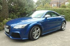 Road testing the Audi TT RS 2.5 TFSI quattro in Sepang Blue this week for Flush the Fashion . Very nice. very fast too!