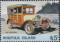 Norfolk Island 1995 Vintage Motor Vehicles Fine Mint SG 583 Scott 569 Other Norfolk Island Stamps HERE