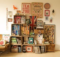 Upcycled apple crates