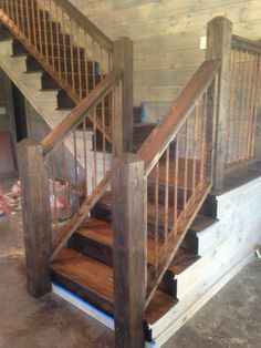 Charming Staircase, Rusted Rebar