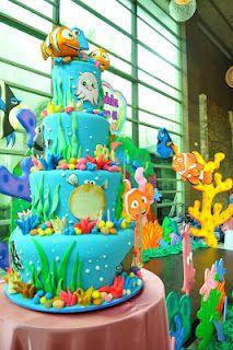 Amazing Nemo Disney themed cake