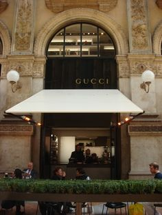 Gucci cafe in Tokyo