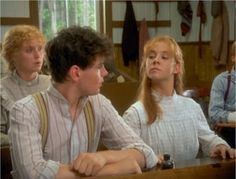 Anne was determined not to be outdone in class by Gilbert Blythe.