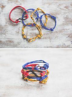 DIY 3 Last Minute Rope Bracelets for Dad