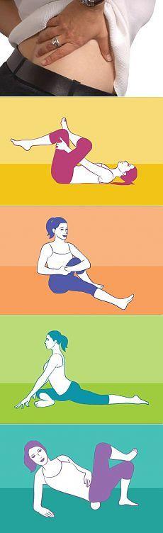4 упражнения против радикулита