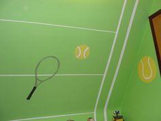 Dylan's tennis room