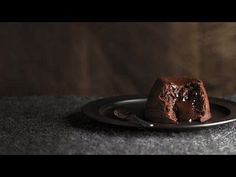 Chocolate and Hazelnut Fondant. Ingredients: 225g unsalted butter; 225g dark chocolate; 4 eggs; 2 egg yolks; 175 g caster sugar; 1 tsp vanilla extract; pinch of salt; 10g cocoa powder; 40g plain flour; 40g ground hazelnuts; 8 tsp thick chocolate dipping Sauce or chocolate ganache. Serve in 8 x 175-ml capacity ramekins, greased and dusted with cocoa powder. Bake at 190°C (gas mark 5) for 10-12 minutes.