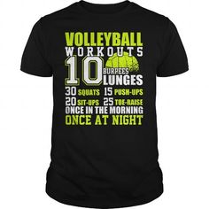 I Love VOLLEYBALL WORKOUTS T-Shirts