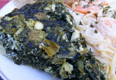 Low Carb Crustless Greek Spinach Pie Recipe - Cheese.Food.com