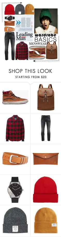 """men wear"" by tobash21 ❤ liked on Polyvore featuring Vans, Mulberry, Dsquared2, Nudie Jeans Co., Shinola, Red Clouds Collective, rag & bone, Black Scale, WeSC and men's fashion"