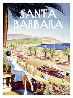 Santa Barbara. Where we were married. Would love to go back for our Anniversary.