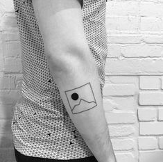 200+ Best Mountain Tattoos for Men (2020) Range, Geometric, Simple, Small Designs Inner Elbow Tattoos, Small Forearm Tattoos, Cool Small Tattoos, Large Tattoos, Cool Tattoos, Armbeugen Tattoos, Sleeve Tattoos, Tree Tattoo Designs, Tattoo Designs And Meanings