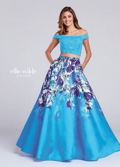 7dd56c8f312b8d Ellie Wilde by Mon Cheri Blossoms Bridal   Formal Dress Store