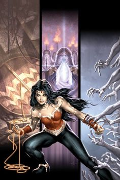 Wonder Woman FIERCE!  Auction your comics on http://www.comicbazaar.co.uk