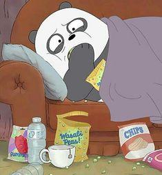 We bara bear Foto Cartoon, Cartoon Icons, Bear Cartoon, We Bare Bears Wallpapers, Panda Wallpapers, Cute Cartoon Wallpapers, Ice Bear We Bare Bears, We Bear, Bear Wallpaper