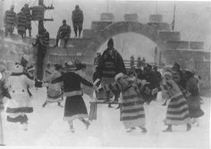 Winter Carnival scene, St. Paul Winter Carnvial, 1917.