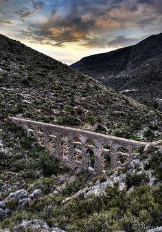 Acueducto romano de Carcauz (Vícar, Siglo I) Almeria  Spain