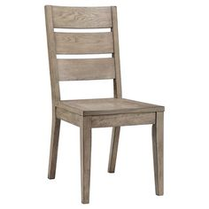 Gilford Slat Back Dining Chair - Gray (Set of 2) - Threshold™ : Target