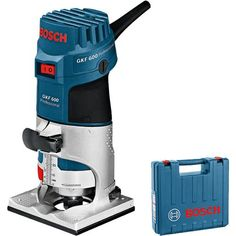 "*CLICK TO ENLARGE* Bosch GKF 600 600W 1/4"" Palm Router"
