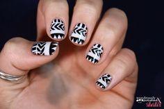 Black and White Nail Tutorial