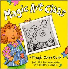 It's time for art class, where you'll find purple pigs, orange elephants, toothy red crocodiles, and a host of animals weird and wonderful. (Grades: Prek+) Call number: PZ 7 .B528753 Mag 2000