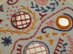 Shisha Mirror Work Pt 1 #tutorial #embroidery #shisha #DIY
