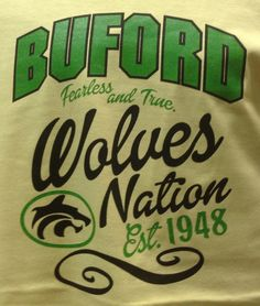 #Buford #wolves have a tradition to maintain!