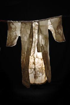 Création : Sylvia Eustache Rools photo : Laure Mélone #textileArt #sheer