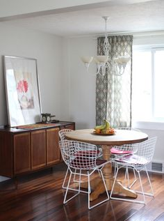 Rearranging a Small Dining Room for the Biggest Impact | Apartment Therapy