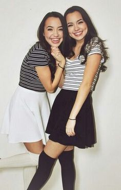 The Merrell Twins! <3 They are so beautiful in every way!