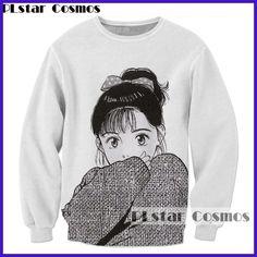 Classic anime Sweatshirt fashion Men Women Long sleeve Outerwear Streetwear  Hipster tops Cartoon 3d Print Crewneck 8cd60ffcb6d