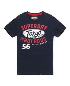 BLK OUT inc. - SUPERDRY - TOKYO HOT RODS REWORKED CLASSICS TEE (ECLIPSE NAVY), $68.00 (http://www.blkouttoronto.com/tops/superdry-tokyo-hot-rods-reworked-classics-tee-eclipse-navy/)