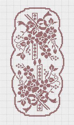 Kira scheme crochet: Scheme crochet no. 1015