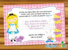 Convite Digital Alice C03