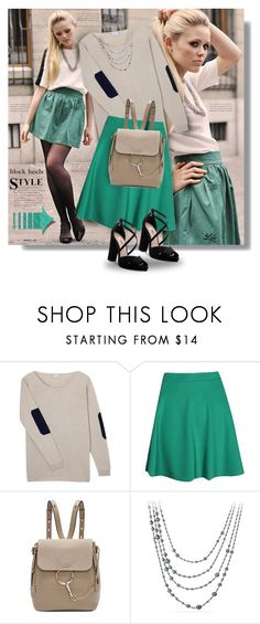 """""""Get the look"""" by breathing-style ❤ liked on Polyvore featuring Orwell + Austen, Boohoo, Chloé, David Yurman and Nina"""