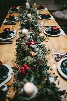 tablescape - photo by Amanda Marie Schwinghammer http://ruffledblog.com/farm-in-the-city-wedding-inspiration