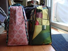 done well: June 2011 Sewing Hacks, Sewing Tips, Amy Butler, Weekender Tote, Crafts To Do, Travel Bag, The Help, Lazy Sunday, Bag Patterns