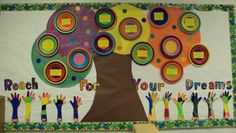 Reach For Your Dreams! | Inspirational Bulletin Board Idea