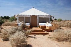 imagen 4 de The Serai, un oasis en el desierto de Rajastán.