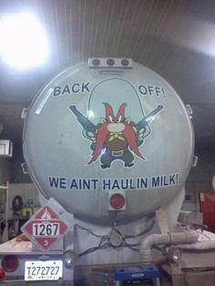 North Dakota oilfield truck ... too funny! #northdakota #oilfield #truck