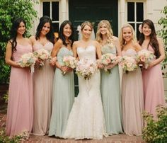 How to Choose Your Bridesmaid Dress Color | Brideside