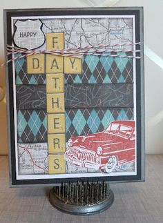 CTMH - I will be doing this one! Great use of the Cruisin' Paper pack!